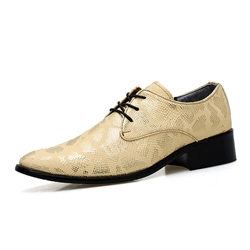 Shoespie Stylish Leather Men's Oxford Shoes