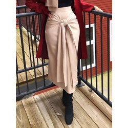 Bodycon Lace-Up Ankle-Length Fashion Women's Skirt
