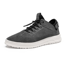 Shoespie Lace Up Low-Cut Upper Round Toe Men's Sneakers