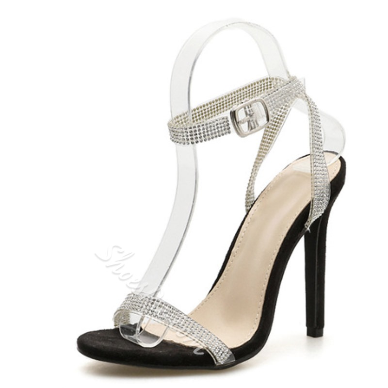 Shoespie Sexy Open Toe Line-Style Buckle Ankle Strap Sandals