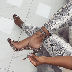 Shoespie Sexy Open Toe Stiletto Heel Heel Covering Sandals