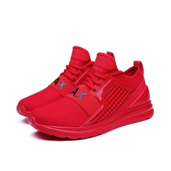 Shoespie Lace-Up Low-Cut Mesh Men's Sneakers