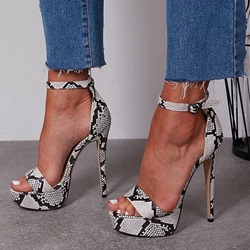 Shoespie Stylish Heel Covering Open Toe Stiletto Heel Platform Sandals