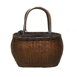 Shoespie Plain Knitted String Tote Bags