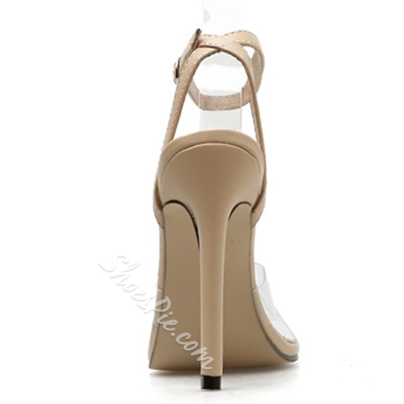Shoespie Sexy Buckle Open Toe Ankle Strap Dress Sandals
