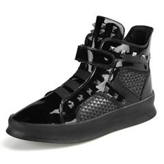 Shoespie Velcro High-Cut Upper Rivet Men's Sneakers