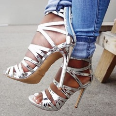 Shoespie Sexy Stiletto Heel Heel Covering Open Toe High-Cut Sandals