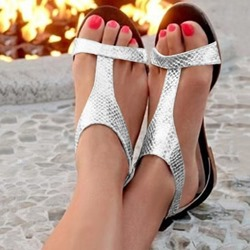 Shoespie Stylish Buckle Open Toe Heel Covering Casual Sandals