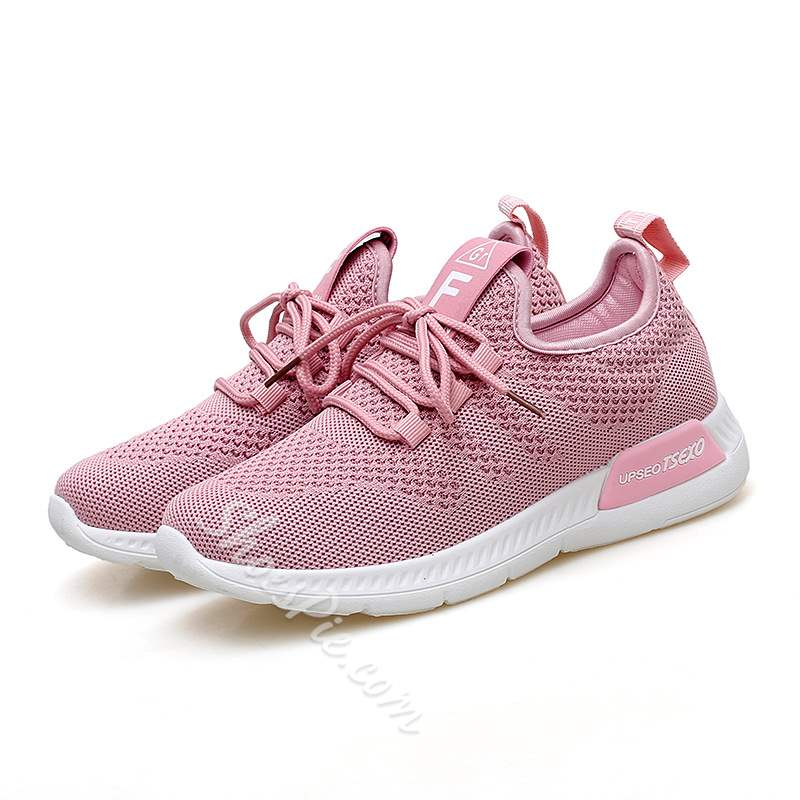 Shoespie Lace-Up Casual Breathable Sneakers