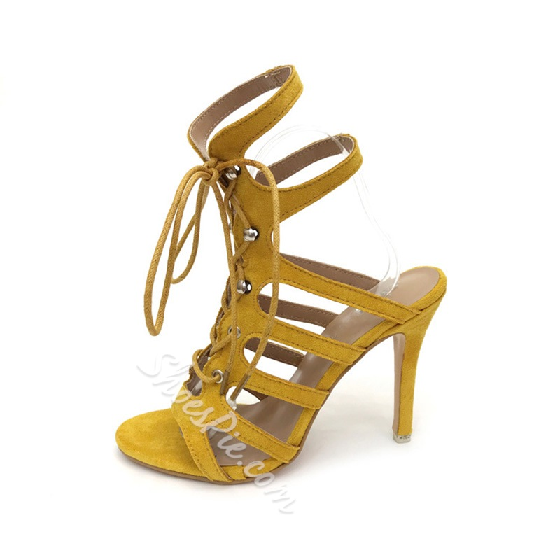 Shoespie Sexy Open Toe Stiletto Heel Slingback Strap Dress Sandals