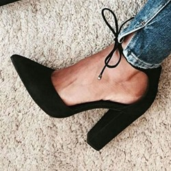 Shoespie Sexy Heel Covering Lace Up Chunky Heel Plain Sandals