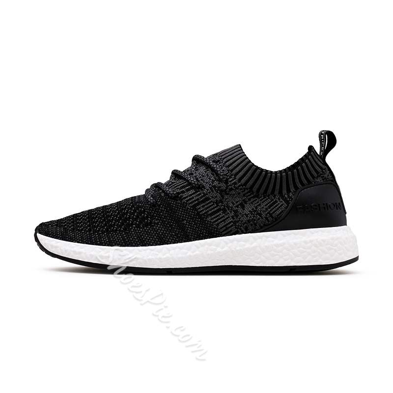 Shoespie Lace-Up Sports Flat With Lace-Up Mne's Sneakers