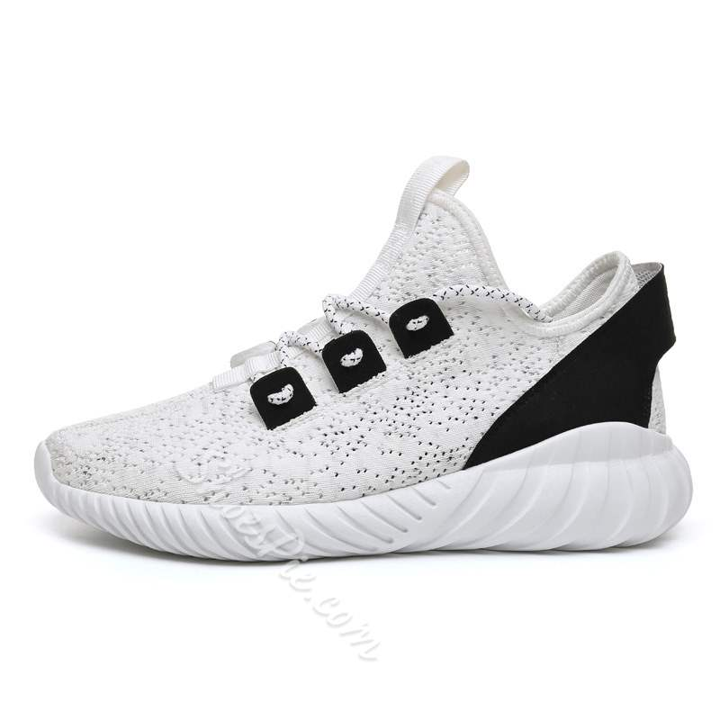 Shoespie Low Cut Upper Lace Up Round Toe Men's Sneakers