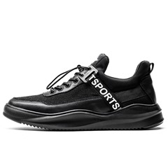 Shoespie Mesh Elastic Band Low-Cut Upper Round Toe Men'sSneakers