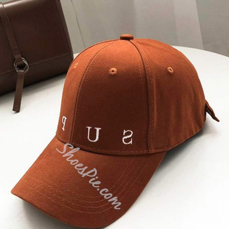 Letter Embroidery Baseball Cap Sun Hat