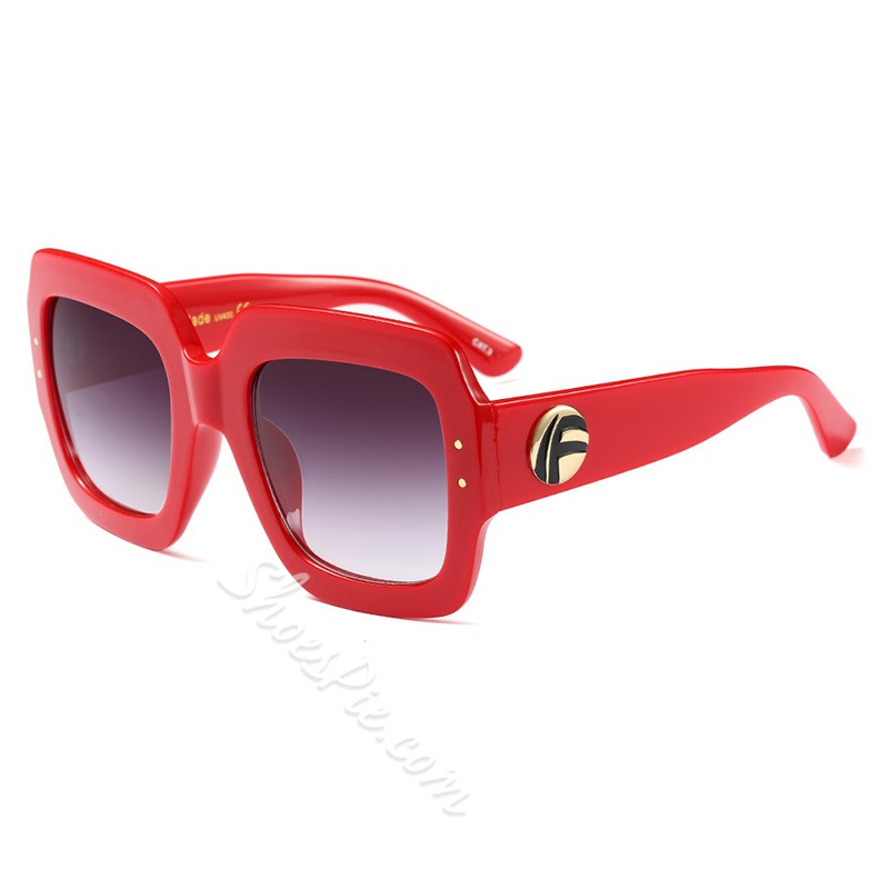 Square Fashion Anti UV Sunglasses