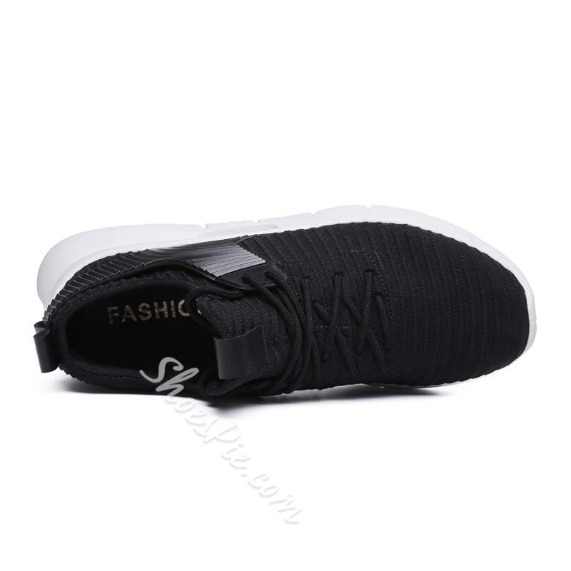 Shoespie Mesh Casual Flat With Lace-Up Men's Sneakers