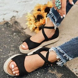 Shoespie Open Toe Zipper Sandals