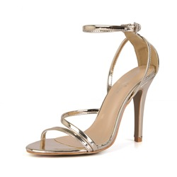 Shoespie Trendy Heel Covering Open Toe Stiletto Heel Sandals