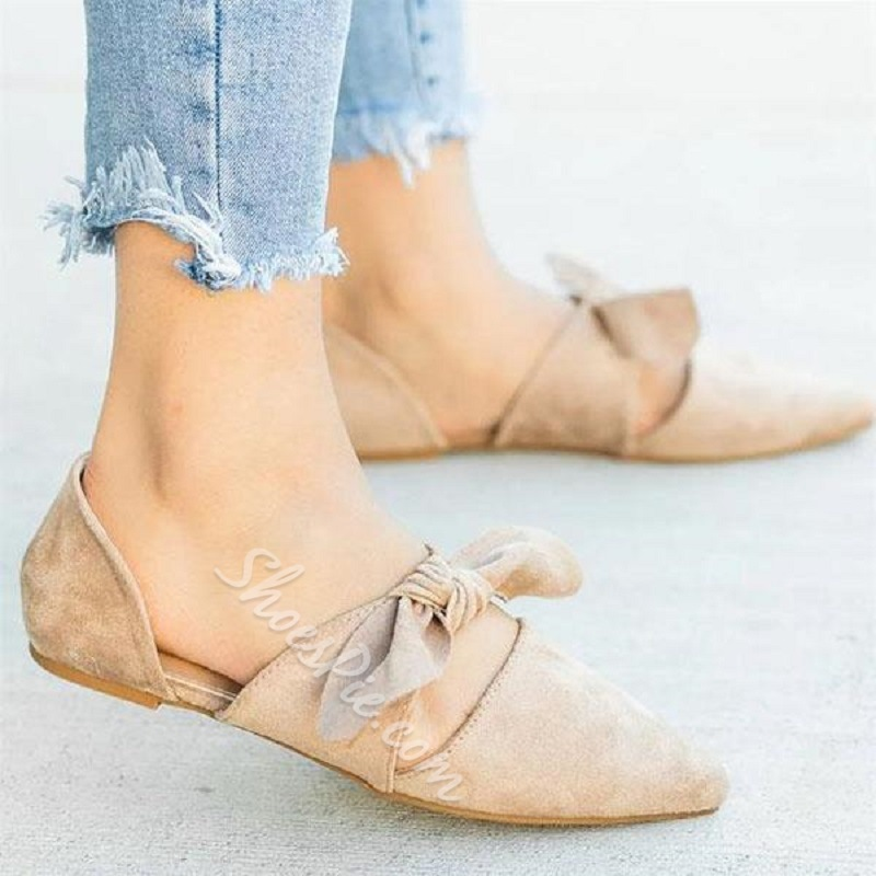 Shoespie Sexy Slip-On Pointed Toe Flat With Flat Heel Loafers