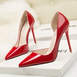 Shoespie Stylish Slip-On Pointed Toe Stiletto Heels