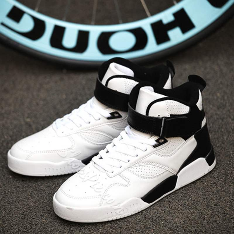 Shoespie Velcro Flat With Sports Round Toe Men's Sneakers