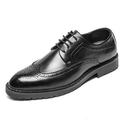 Shoespie Casual Oxford PU Leather Men's Dress Shoes