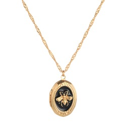 Animal Pattern E-Plating Coin Necklace
