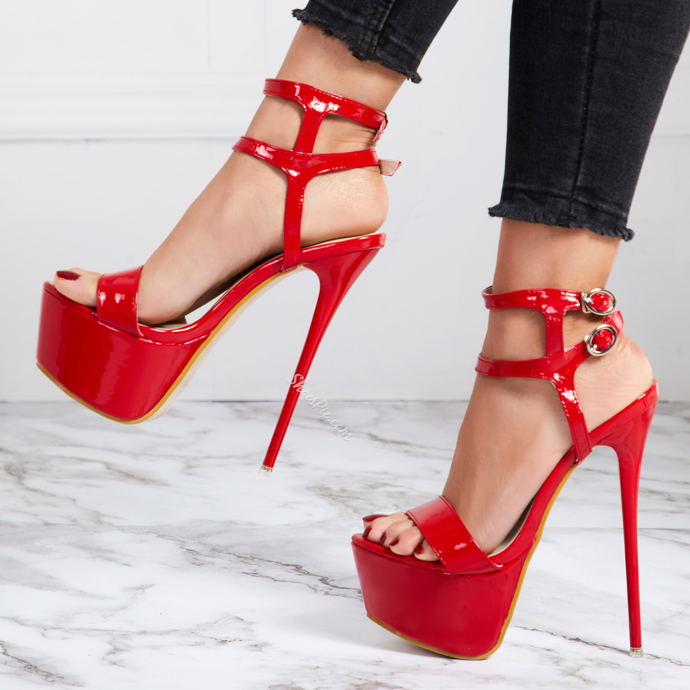 Sexy Platform Banquet Stiletto Heel Dress Sandals