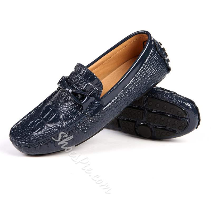 Shoespie Slip-On Low Cut Upper Plain Round Toe Men's Loafers