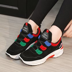 Shoespie Lace-Up Platform Chunky Sneakers