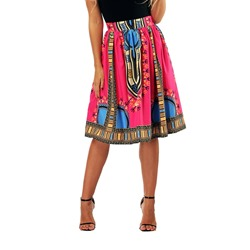 Print Expansion Geometric Casual Women's Skirt