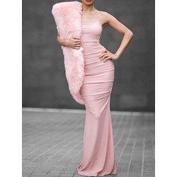 Long Sleeve Floor-Length Pullover Women's Maxi Dress