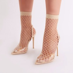 Shoespie Trendy Pointed Toe Stiletto Heel Slip-On Ankle Boots
