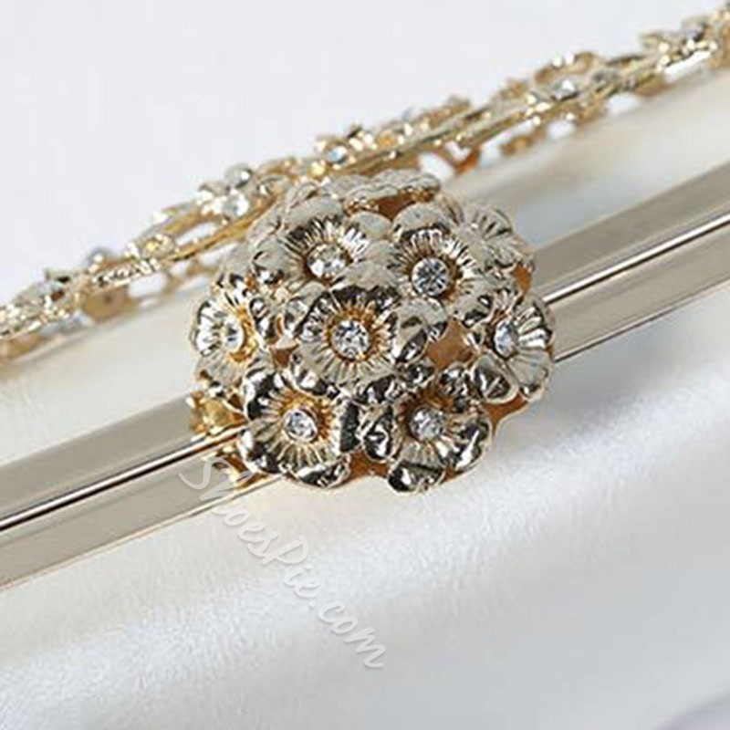 Shoespie Diamond Banquet Clutches & Evening Bags