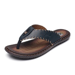 Shoespie Men's Summer Plain Thong Thread Slippers