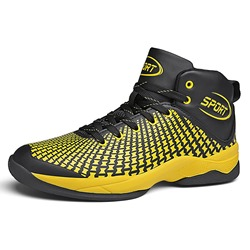 Shoespie Basketball High-Cut Upper Mesh Men's Sneakers