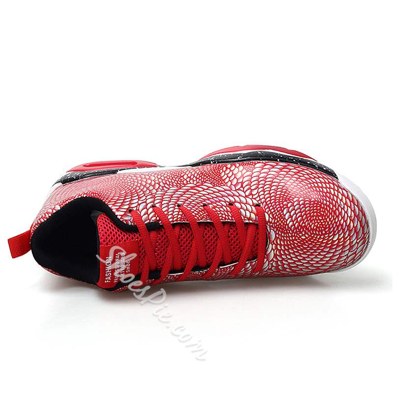 Shoespie Mid-Cut Upper Lace-Up Basketball Men's Sneakers