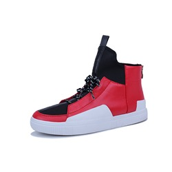 Shoespie Zipper High Top Skate Shoes