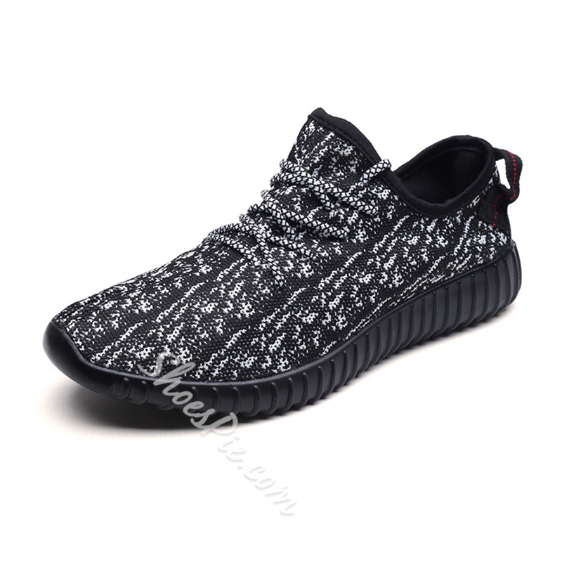 Shoespie Breathable Mesh Large Size Men's Sneakers