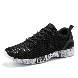 Shoespie Low-Cut Upper Lace Up Round Toe Men's Sneakers