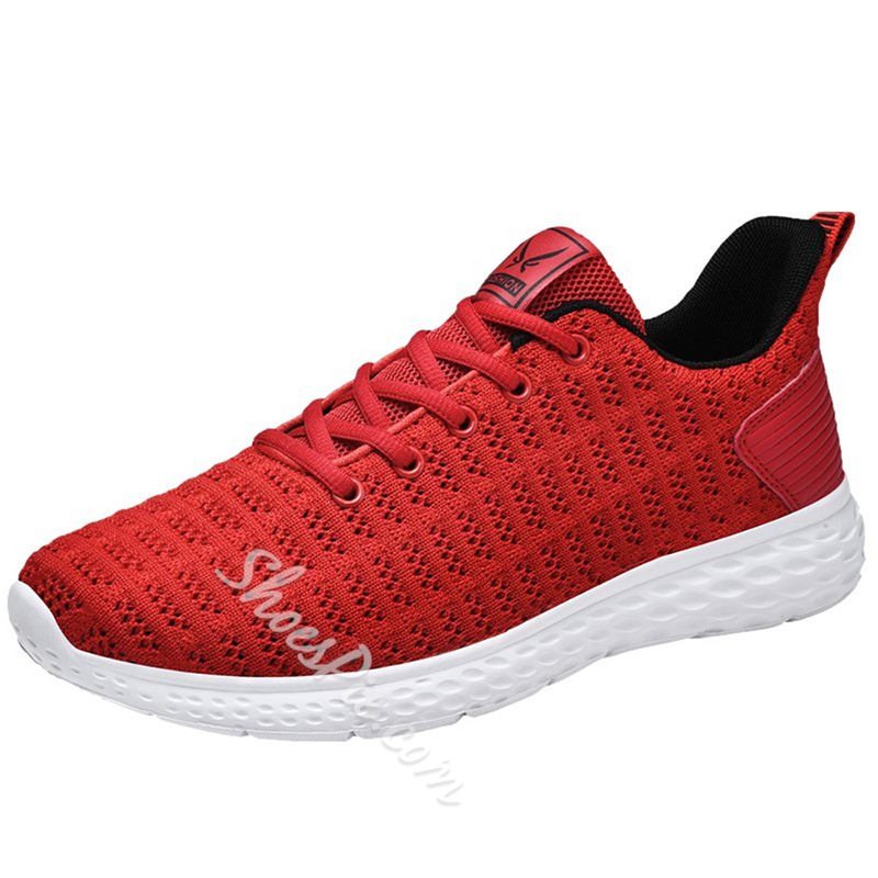 Shoespie Men's Breathable Casual Large Size Sneakers