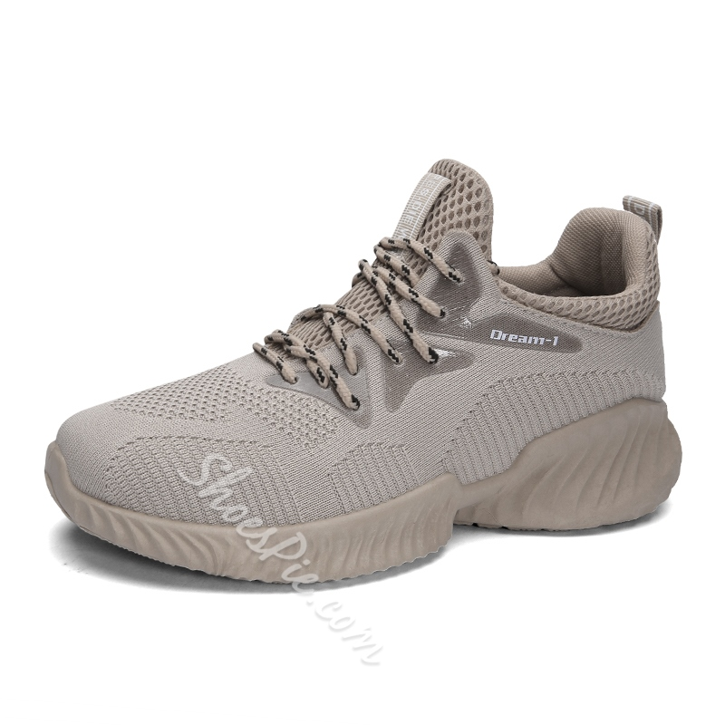 Shoespie Casual Lace-Up Sport Men's Sneakers