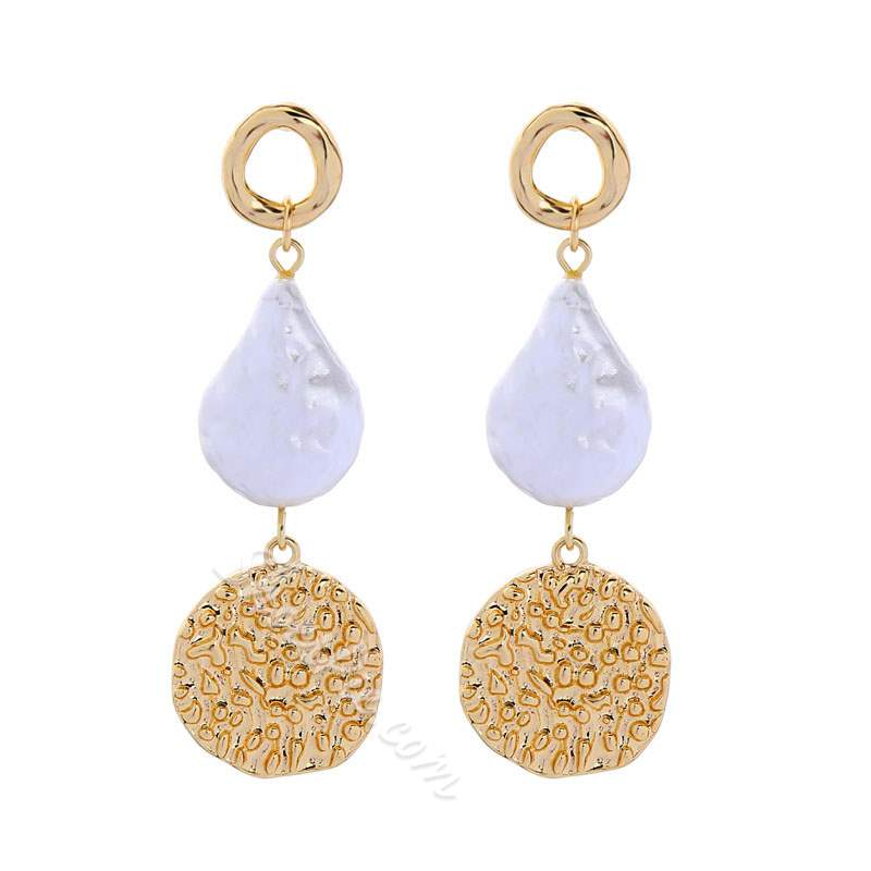 E-Plating Alloy European Holiday Earrings