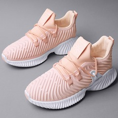 Shoespie Mesh Stylish Breathable Lace-Up Casual Sneakers