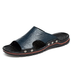 Shoespie Plain Summer Slip On Men's Slippers