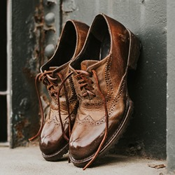Shoespie Leather Men Dress Oxford Shoes