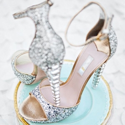 Shoespie Trendy Buckle Peep Toe Stiletto Heel Wedding Sandals