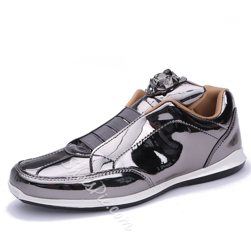 Shoespie Soft Elastic Band Slip-On Men's Sneakers