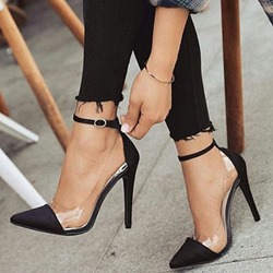 Shoespie Stylish Buckle Buckle Banquet Shoes Stiletto Heels
